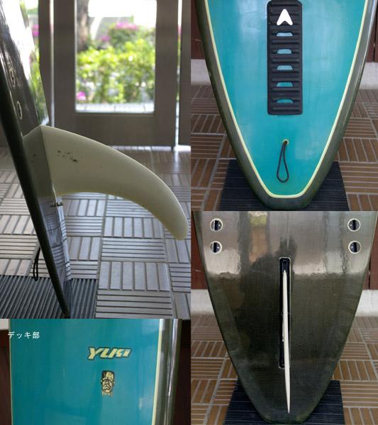 YUKI SUDOシェイプ 中古ロングボード fin/tail bno9629389c