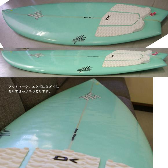 YU 4chコンケーブ 中古ショートボード detail bno9629391d