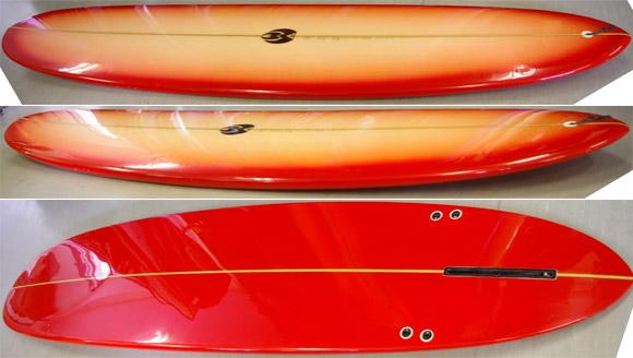 bWAVE WADE 中古ロングボード bottom-detail no9629394d