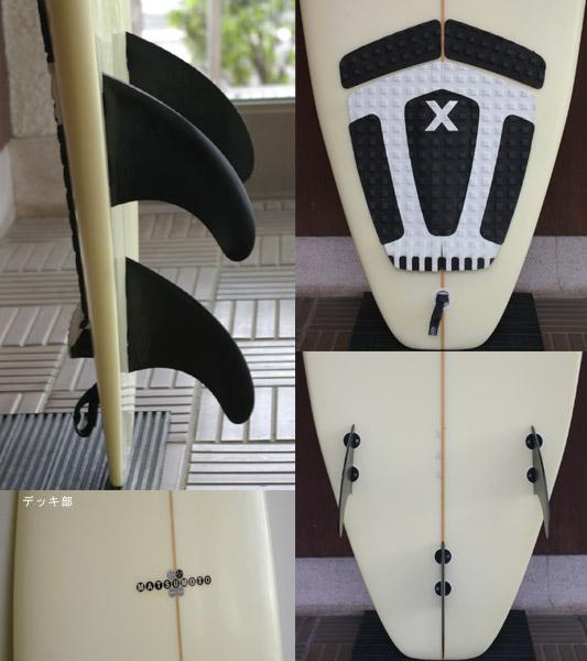 ROCKDANCE 中古ショートボード 6`5 fin/tail bno9629398c