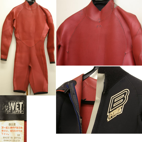 BEWET ロングスプリング中古ウェットスーツ detail bno9629406c