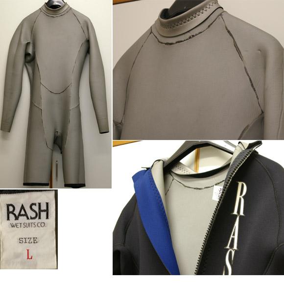 RUSH 3/2mmロングスプリング 中古ウェットスーツ detail bno9629410c