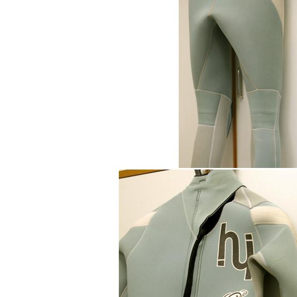 hi 3/2mm フルスーツ 中古ウェットスーツ bottom bno9629415b