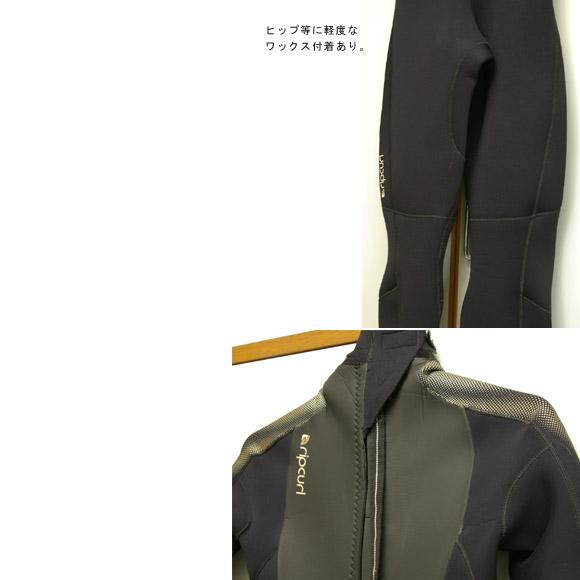 RIP CURL 女性用 フルスーツ 中古ウェットスーツ bottom bno9629417b