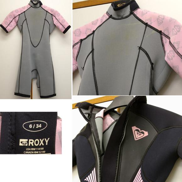 ROXY スプリング2mm 中古ウェットスーツ detail bno9629420c