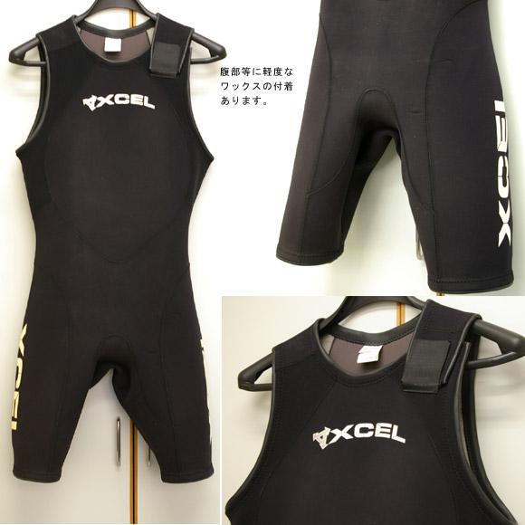 XCEL ショートジョン3/2mm 中古ウェットスーツ bno9629422a