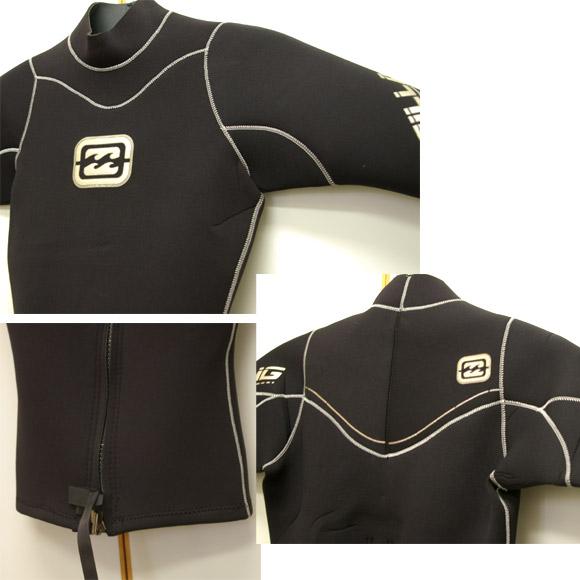 BILLABONG 半袖タッパー 中古ウェットスーツ condition bno9629423d