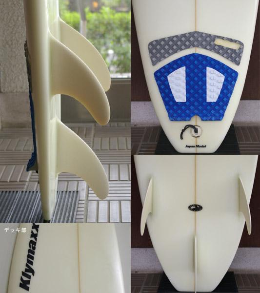 KLYMAXX 中古ファンボード fin/tail bno9629427c