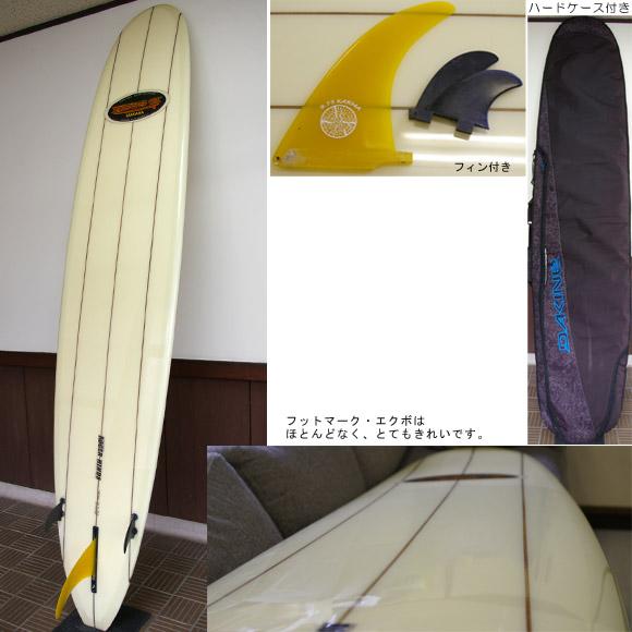 RUSS-K 中古ロングボード bottom bno9629428b