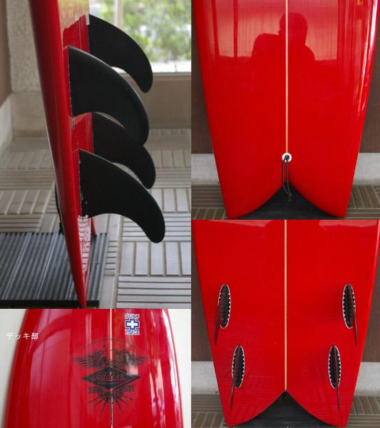 GODDESS FISH クワッド 中古ショートボード fin/tail bno9629439c