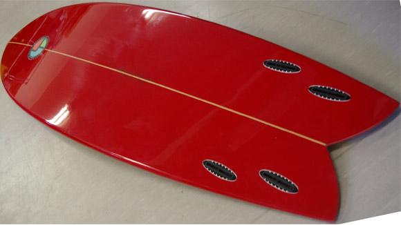 GODDESS FISH クワッド 中古ショートボード condition bno9629439e