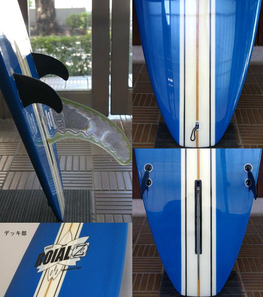 roialzoc 中古ロングボード fin/tail bno9629449c