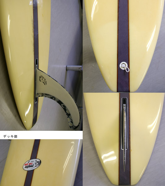 GREG NOLL  中古ロングボード fin/tail bno9629463c
