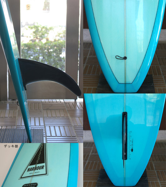HARBOUR BANANA 中古ロングボード fin/tail bno9629472c