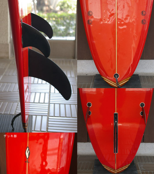 efu ファンボード8`0 fin/tail bno9629474c