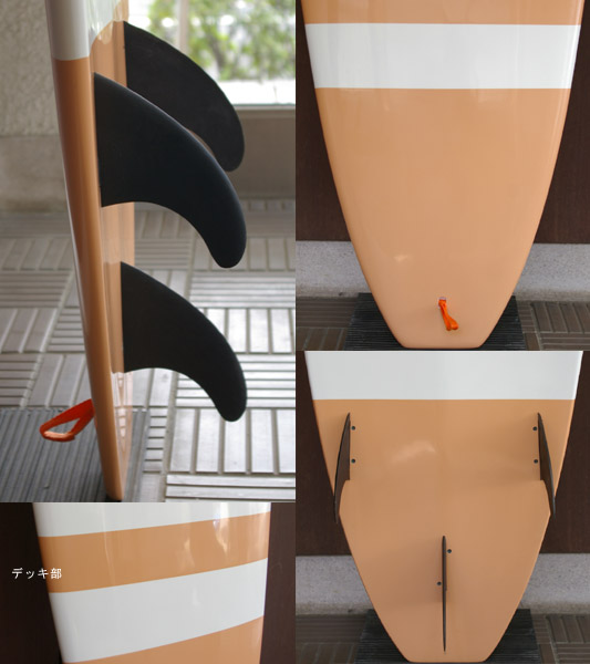 ビギナー向け エポキシ 中古ファンボード fin/tail bno9629476c