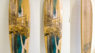 SECTOR9 BAMBOO SUNSET 42 中古スケートボード bno9629477a
