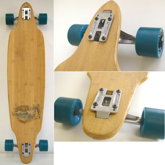 SECTOR9 BAMBOO SUNSET 42  中古スケートボード deck bno9629477b