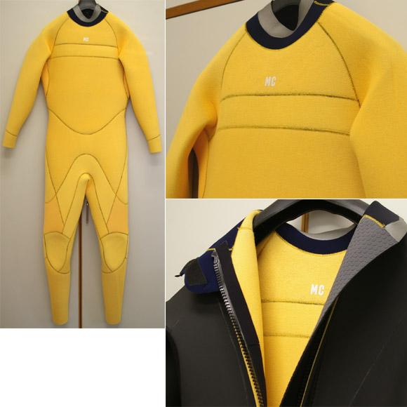 セミドライ 5/3mm 中古ウェットスーツ detail bno9629482c