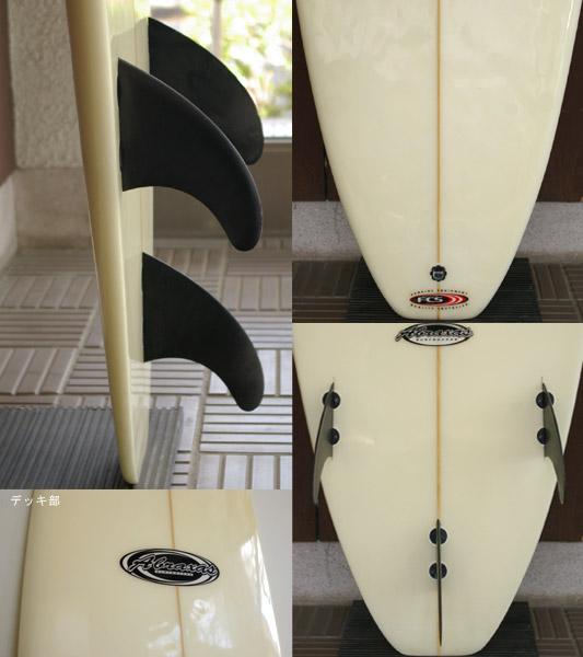 ABRAXAS 中古ファンボード 7`2 fin/tail bno9629486c