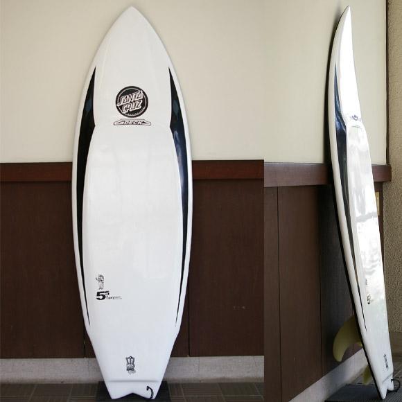 Santa Cruz G-DECK 中古ショートボード bno9629489a