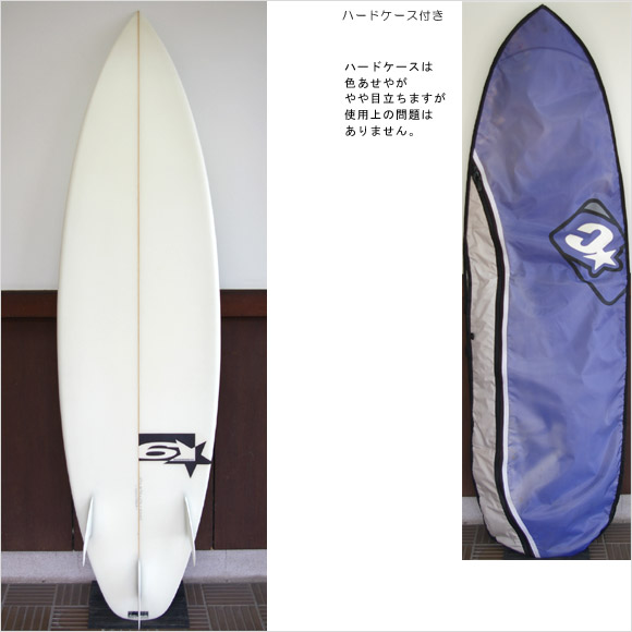 SIX STAR 中古ショートボード bottom bno9629490b