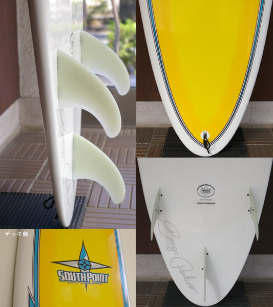 SOUTHPOINT SCHAPER ボンガモデル 中古ファンボード fin/tail bno9629497c