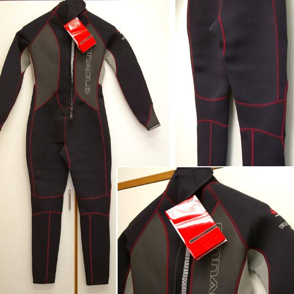Pinnacle フルスーツ 中古ウェットスーツ  bottom bno9629501b