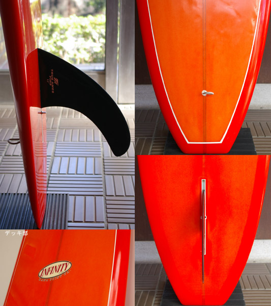 INFINITY 中古ロングボード 9`0 fin/tail bno9629505c