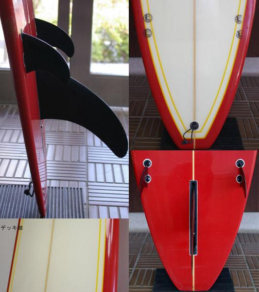 初心者向け 中古ロングボード 9`2 fin/tail bno9629520c