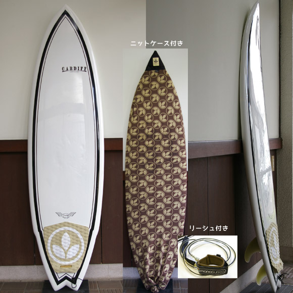 CARDIFF Limited edition EPS 中古ショートボード bno9629529a