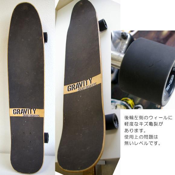 GRAVITY Brad Edwards 40 中古スケートボード deck bno9629532b