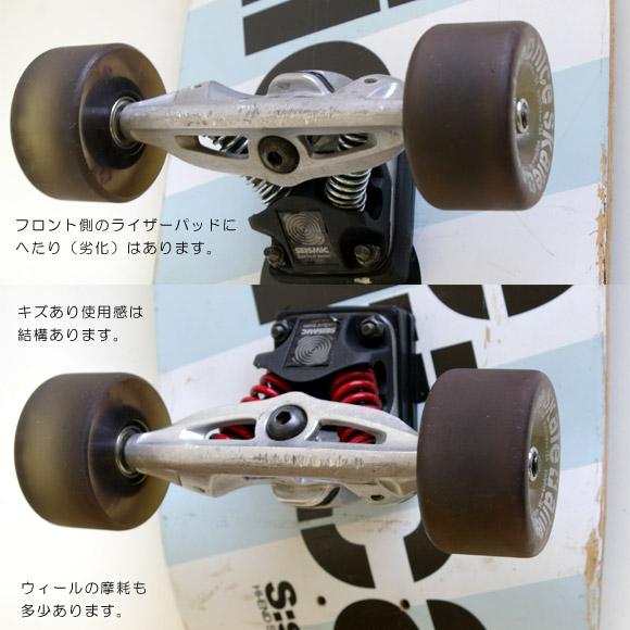NICE SKATE AMERICA SPS 35 中古スケートボード ウィール・トラック bno9629534c