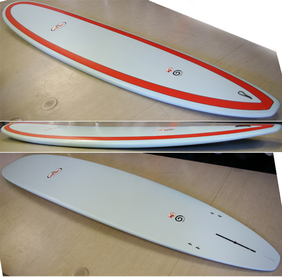 DUAL SHIFT EPOXY 中古ロングボード 9`1 detail bno9629552d
