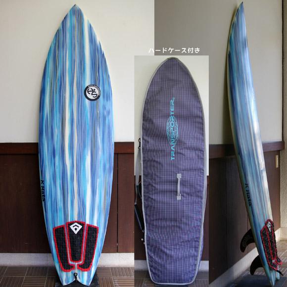 HATA SURFBOARD 5FIN 中古ショートボード bno9629554a