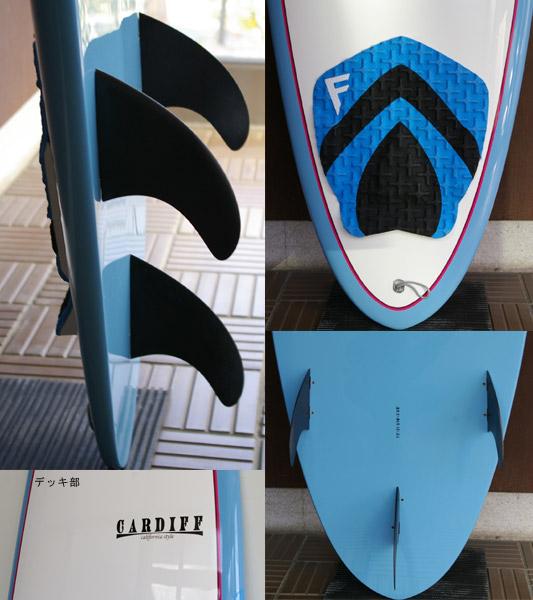 CARDIFF EPOXY 中古ファンボード 7`2 fin/tail bno9629559c