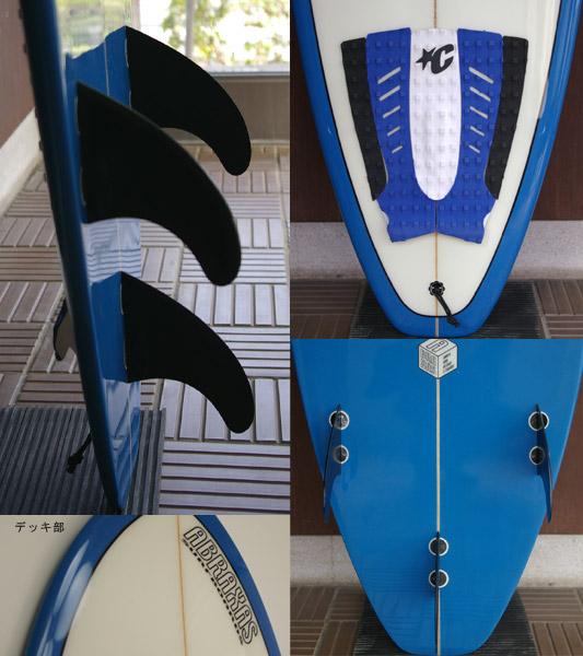 ABRAXAS 中古ファンボード 7`2 fin/tail bno9629560c