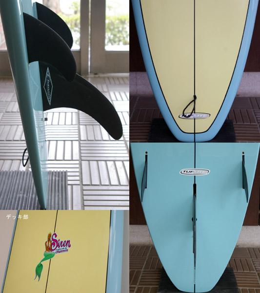 SURFTECH SIREN 中古ロングボード 9`0 fin/tail bno9629582c