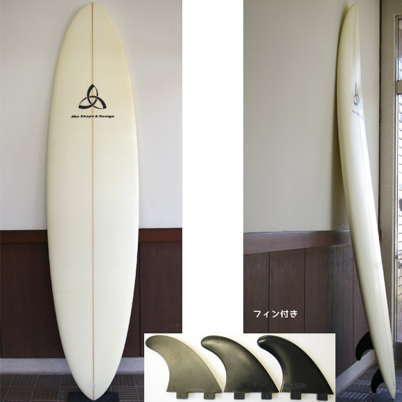 Abe Shape & Design/ASD 中古ファンボード 7`10 bno9629583a