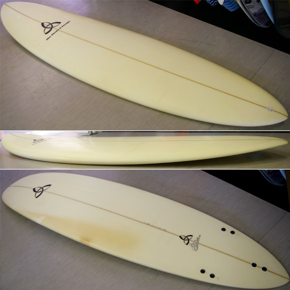 Abe Shape & Design/ASD 中古ファンボード 7`10 detail bno9629583d