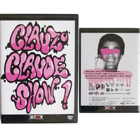 CLAUZO CLAUDE SHOW 中古サーフDVD bno9629598a
