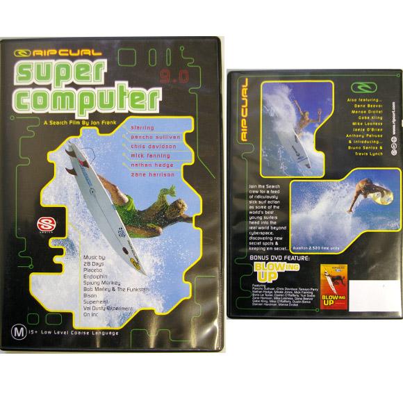 RIP CURL SUPER COMPUTER 中古サーフDVD bno9629603a