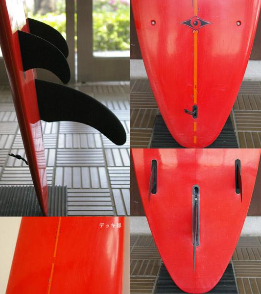 BIC 中古ロングボード EPOXY 9`0 fin/tail bno9629605c