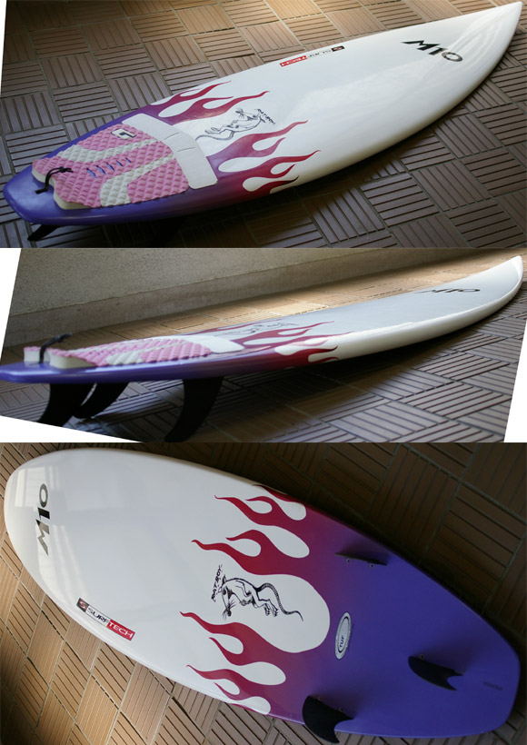 M10 RATBOY SURFTECH 中古ショートボード 6`1 condition bno9629613e