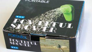 ポータブル電動シャワー POWERFUL SHOWER bno9629617a