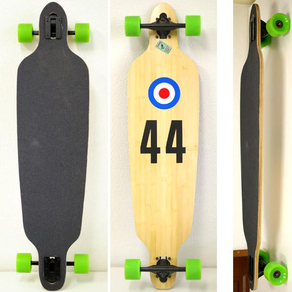 40inch バンブーデッキ 中古スケートボード deck/bottom bno9629629a