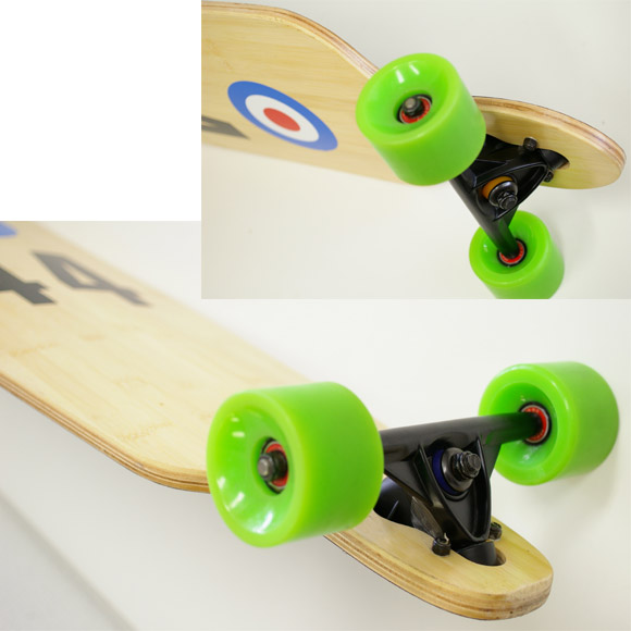 40inch バンブーデッキ 中古スケートボード condition bno9629629b