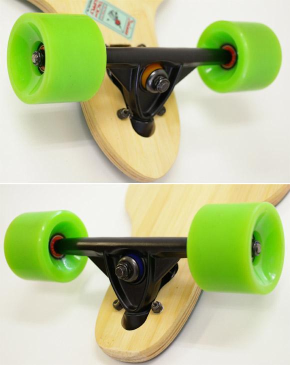 40inch バンブーデッキ 中古スケートボード detail bno9629629c