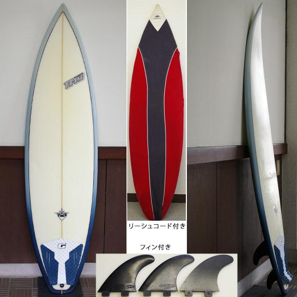 TM3 中古ショートボード 6`4 deck bno9629630a