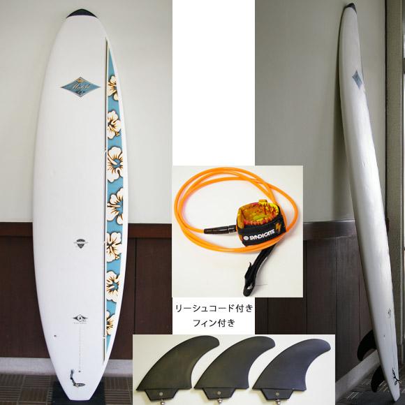 BIC SPORT Mini Malibu 中古ファンボード 7`3 deck bno9629631a